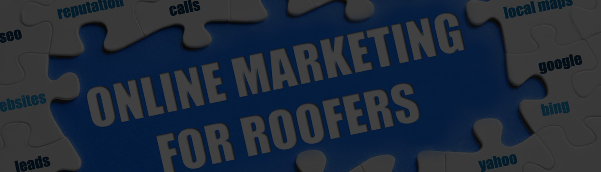 WE WORK EXCLUSIVELY WITH ROOFING CONTRACTORS